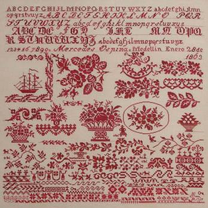 Mercedes Ospina 1863 by Queenstown Sampler Designs