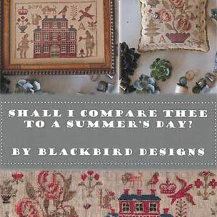Shall I Compare Thee by Blackbird Designs
