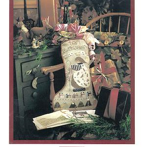 Terri's Stocking By Shepherd's Bush - Chart and Charm Pack