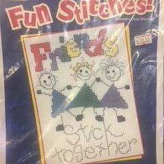Fun Stitches Friends Stick Together by The Stoney Creek Collection
