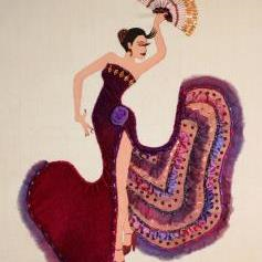 Flamenco Dancer by Catherine Howell