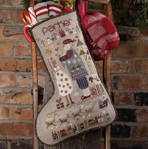 Parker's Stocking by Shepherd's Bush - Chart and Charm Pack