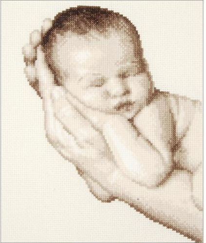 Vervaco 0149898 Birth Record Baby In These Hands