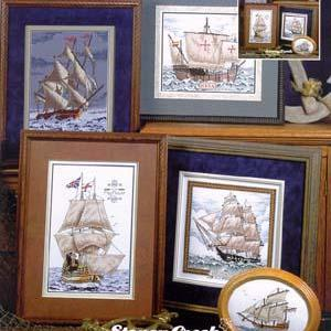 Historic Tall Ships by The Stoney Creek Collection