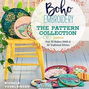 Boho Embroidery: The Pattern Collection by Nichole Vogelsinger