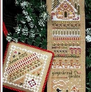 Gingerbread Garden Sampler  and Accessories Pack by The Victoria Sampler