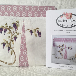 Woodland Wisteria Lingerie Sachet by Faded Rose Creations