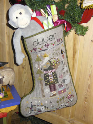 Oliver's Stocking By Shepherd's Bush - Chart and Charm Pack