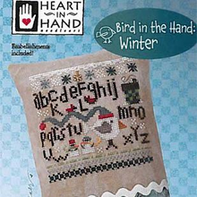 Bird in the Hand by Heart n Hand Needleart