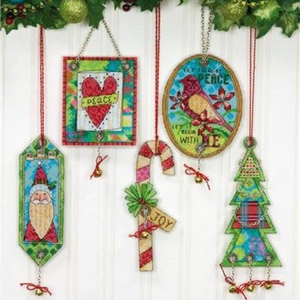 Jingle Bell Ornaments by Jessica Flick
