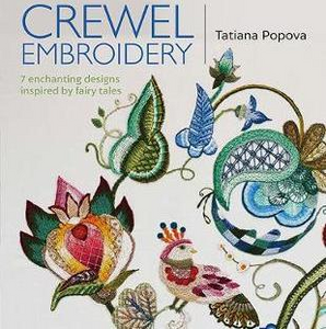Crewel Embroidery by Tatiana Popova