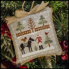 Farmhouse Christmas by Little House Needleworks - Snowy Series