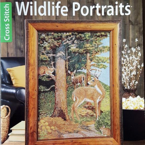 Wildlife Portraits Cross Stitch Book by Leisure Arts