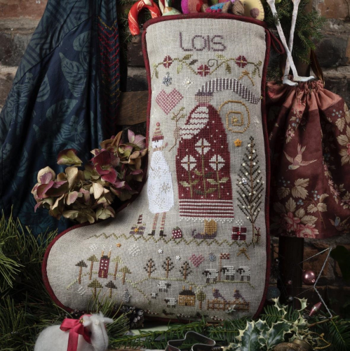 Lois's Stocking by Shepherd's Bush - Chart and Charm Pack