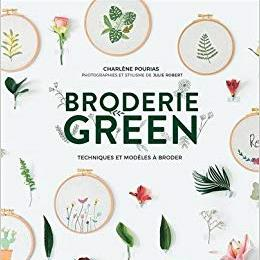 Broderie Green by Charlene Pourias