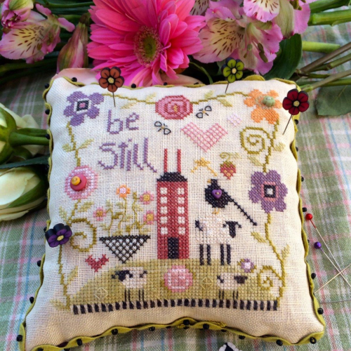 Be Still Pincushion by Shepherd's Bush