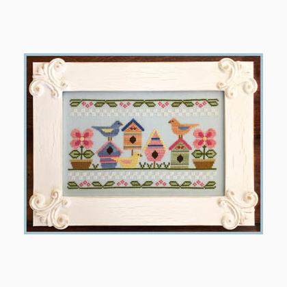 Spring Birds by Country Cottage Needleworks