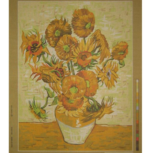 Les Tournesols (The Sunflowers) by Van Gogh Tapestry 981.109 by SEG