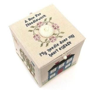 My Needle's Worke Box By With My Needle