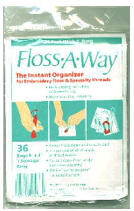 Floss A Way Organiser Pack Of 36