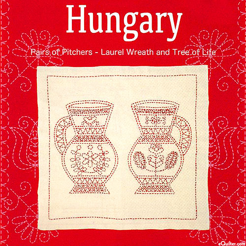 Sashiko Kit - Hungary - Pair of Pitchers