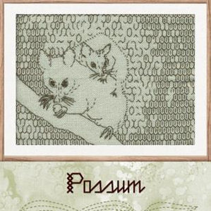 Mrs Echidna's Dilemma Possum Pattern by Betty Johnston