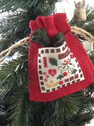 A Christmas Treasure Bag By The Purple Thread