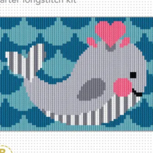 Longstitch Whale Kit by Create Handmade