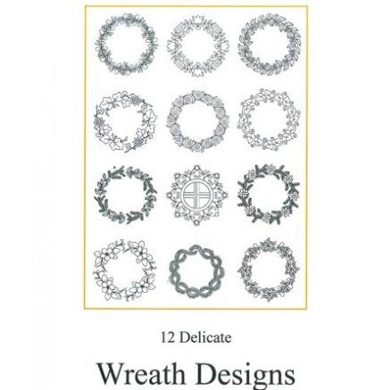 Wreath Designs Set 2 by Luzine Happel