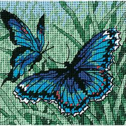 Butterfly Duo Needlepoint Kit by Dimensions