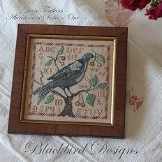 Loose Feathers Wild Berries by Blackbird Designs