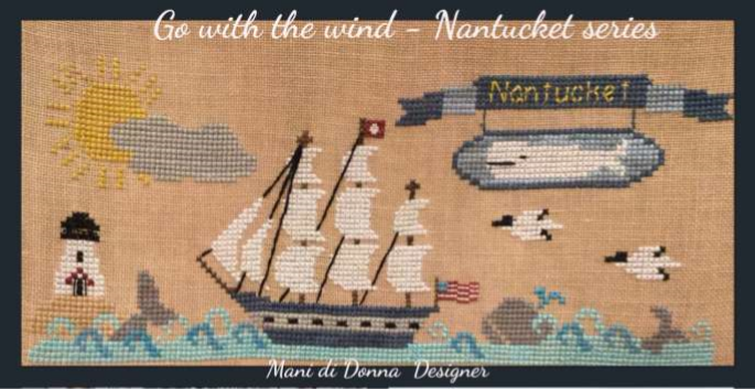 Go with the Wind ~ Nantucket Series by Mani Di Donna