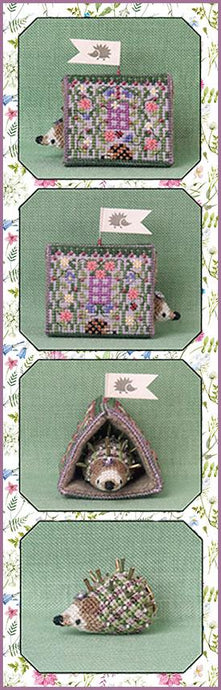 Heather's Hedgehog House Limited Edition 2020 by Just Nan