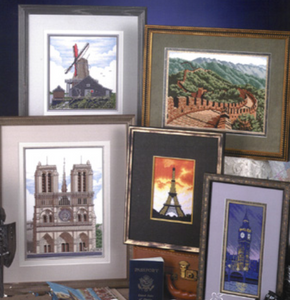 Stoney Creek Landmarks Around The World Cross Stitch Books