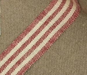 Linen Band 28CT Striped 3cm Wide