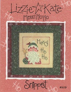 Snippets Merry Hoho By Lizzie Kate