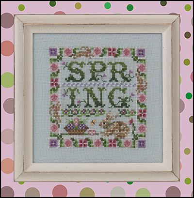 Spotted Hare Spring Chart By Just Nan