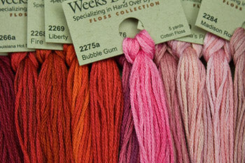Weeks Dye Works Stranded Cotton