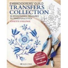 Embroiderers' Guild Transfers Collection by Dr Annette Collinge