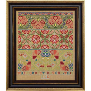 Ann Borrett 1646 by Hands Across The Sea Samplers