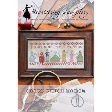 Cross Stitch Nation by Heartstrings Samplery
