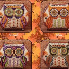 Owls of October II and Embellishments by Just Nan - Limited Edition