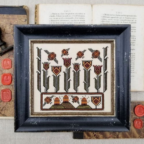 Fraktur Bees by Hello from Liz Mathews