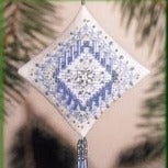 Tiny Treasured Diamond by Mill Hill -Icy Snowflake