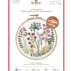 DMC Perle Effect 3D Embroidery Kit Country Classic