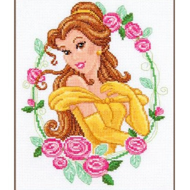 Belle Disney Counted Cross Stitch Kit by Vervaco - PN00145098