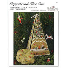 Gingerbread Tree Etui by Victoria Sampler