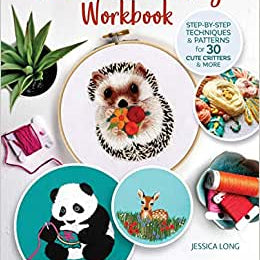 Animal Embroidery Workbook by Jessica Long