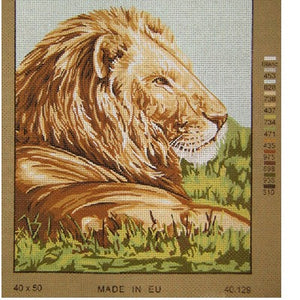 Lion Tapestry by Gobelin