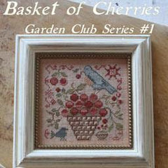 Basket of Cherries Garden Club #1 by Blackbird Designs